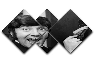 Jimmy Tarbuck 4 Square Multi Panel Canvas  - Canvas Art Rocks - 1