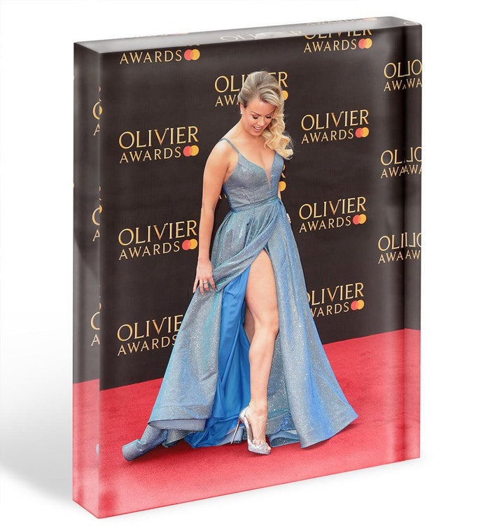 Joanne Clifton Acrylic Block
