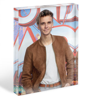 Joe Sugg Acrylic Block - Canvas Art Rocks - 1