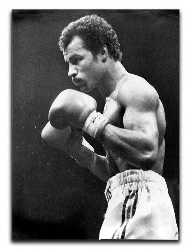 John Conteh boxer Canvas Print or Poster  - Canvas Art Rocks - 1