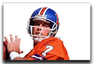 John Elway Canvas Print - Canvas Art Rocks - 1