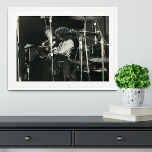 John Entwisle and Roger Daltrey at Tanglewood Music Shed Framed Print - Canvas Art Rocks - 5