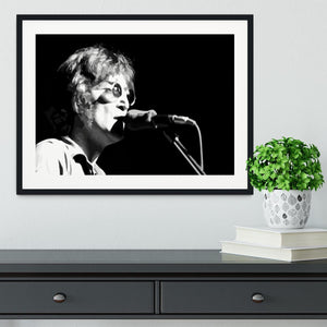 John Lennon Imagine Framed Print - Canvas Art Rocks - 1