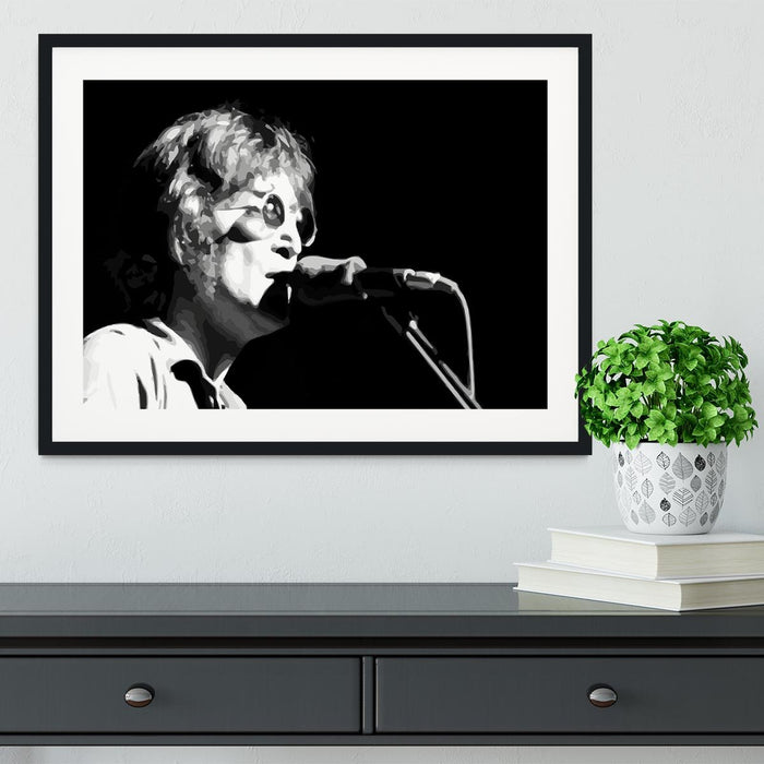 John Lennon Imagine Framed Print