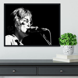 John Lennon Imagine Framed Print - Canvas Art Rocks - 2