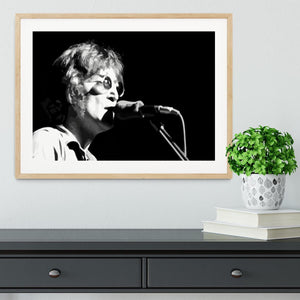John Lennon Imagine Framed Print - Canvas Art Rocks - 3