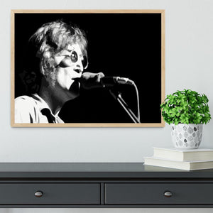 John Lennon Imagine Framed Print - Canvas Art Rocks - 4