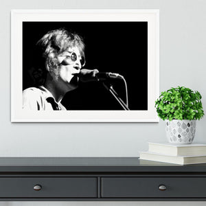 John Lennon Imagine Framed Print - Canvas Art Rocks - 5