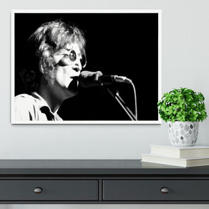 John Lennon Imagine Framed Print - Canvas Art Rocks -6