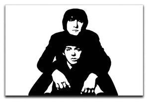John Lennon Paul McCartney Canvas Print or Poster  - Canvas Art Rocks - 1