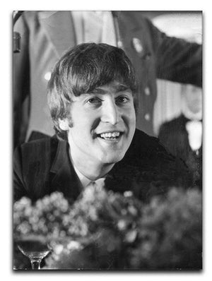 John Lennon at Foyles literary luncheon Canvas Print or Poster  - Canvas Art Rocks - 1