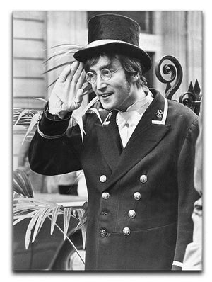 John Lennon dressed as a commissionaire Canvas Print or Poster  - Canvas Art Rocks - 1