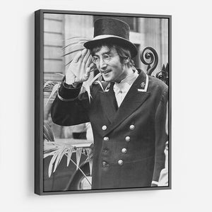 John Lennon dressed as a commissionaire HD Metal Print
