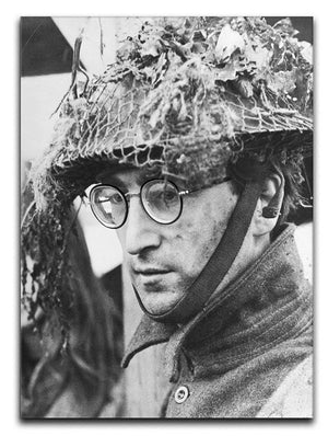 John Lennon filming How I won the War Canvas Print or Poster  - Canvas Art Rocks - 1