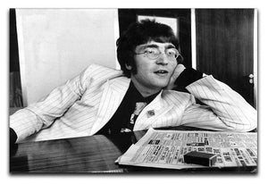 John Lennon in 1967 Canvas Print or Poster  - Canvas Art Rocks - 1