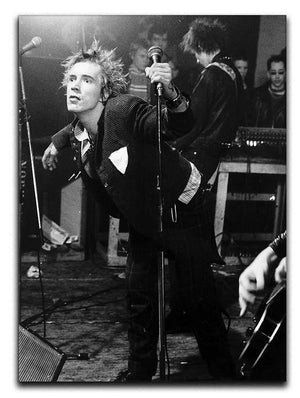 John Lydon Sex Pistols Canvas Print or Poster  - Canvas Art Rocks - 1