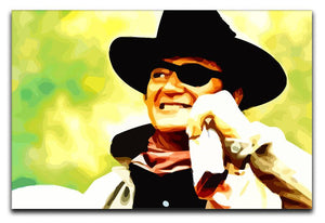John Wayne Print - Canvas Art Rocks - 1