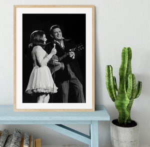 Johnny Cash Framed Print - Canvas Art Rocks - 3