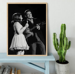 Johnny Cash Framed Print - Canvas Art Rocks - 4