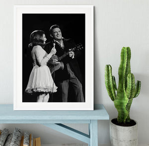 Johnny Cash Framed Print - Canvas Art Rocks - 5