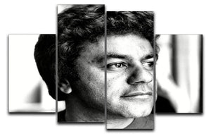 Johnny Mathis 4 Split Panel Canvas - Canvas Art Rocks - 1