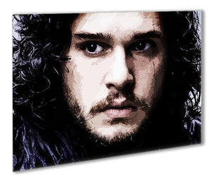 Jon Snow Outdoor Metal Print - Canvas Art Rocks - 1