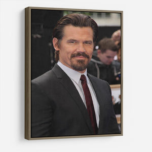 Josh Brolin HD Metal Print