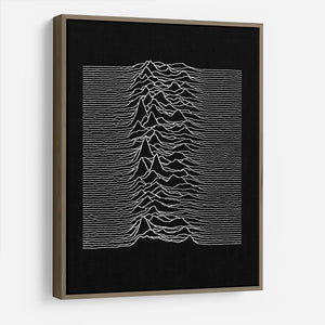 Joy Division Unknown Pleasures HD Metal Print