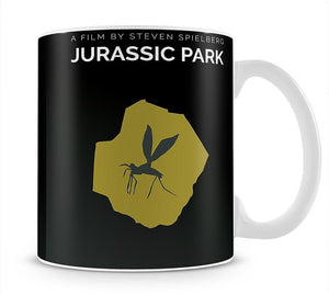 Jurassic Park Life Always Finds A Way Minimal Movie Mug - Canvas Art Rocks - 1