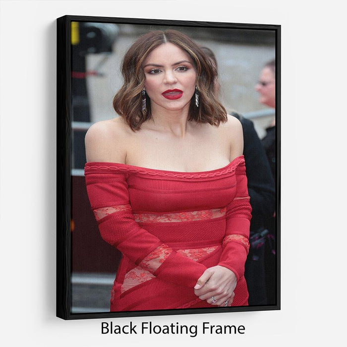 Katharine McPhee Floating Frame Canvas