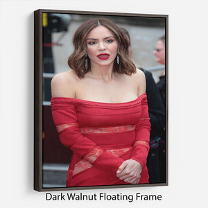 Katharine McPhee Floating Frame Canvas - Canvas Art Rocks - 5
