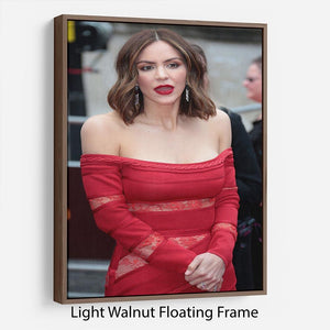 Katharine McPhee Floating Frame Canvas - Canvas Art Rocks 7