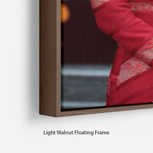 Katharine McPhee Floating Frame Canvas - Canvas Art Rocks - 8