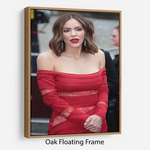 Katharine McPhee Floating Frame Canvas - Canvas Art Rocks - 9