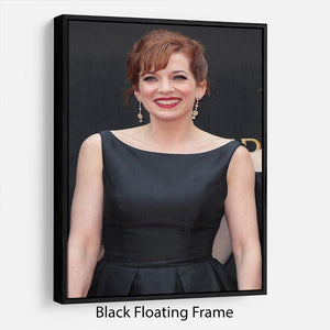 Katherine Parkinson Floating Frame Canvas - Canvas Art Rocks - 1