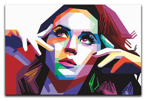 Katy Perry Pop Art Canvas Print or Poster
