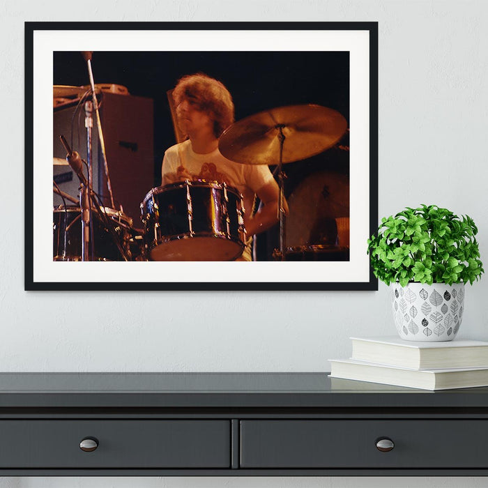 Keith Moon at Tanglewood Music Shed 6 Framed Print