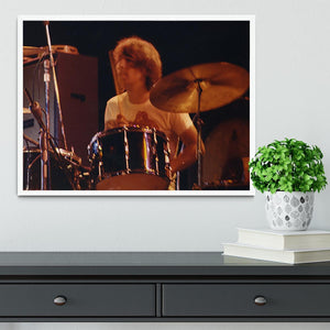 Keith Moon at Tanglewood Music Shed 6 Framed Print - Canvas Art Rocks -6