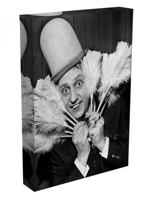 Ken Dodd with tickling sticks Canvas Print or Poster - Canvas Art Rocks - 3