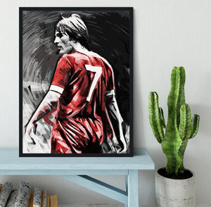 Kenny Dalglish Framed Print - Canvas Art Rocks - 2