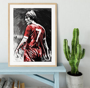 Kenny Dalglish Framed Print - Canvas Art Rocks - 3