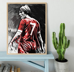 Kenny Dalglish Framed Print - Canvas Art Rocks - 4