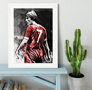 Kenny Dalglish Framed Print - Canvas Art Rocks - 5
