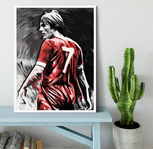 Kenny Dalglish Framed Print - Canvas Art Rocks -6