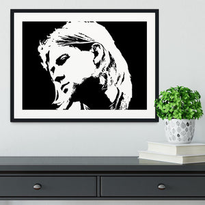 Kurt Cobain Framed Print - Canvas Art Rocks - 1