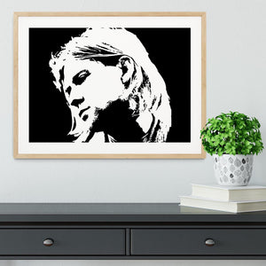Kurt Cobain Framed Print - Canvas Art Rocks - 3