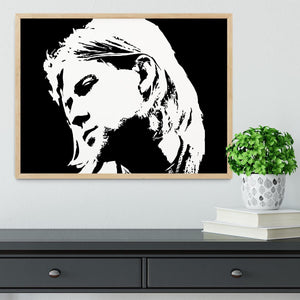 Kurt Cobain Framed Print - Canvas Art Rocks - 4