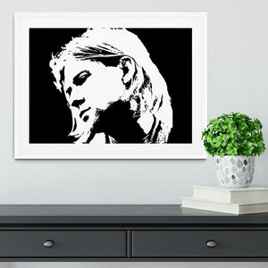 Kurt Cobain Framed Print - Canvas Art Rocks - 5