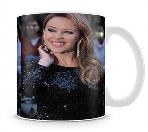 Kylie Minogue Red Carpet Mug - Canvas Art Rocks - 1