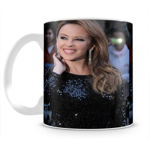 Kylie Minogue Red Carpet Mug - Canvas Art Rocks - 2